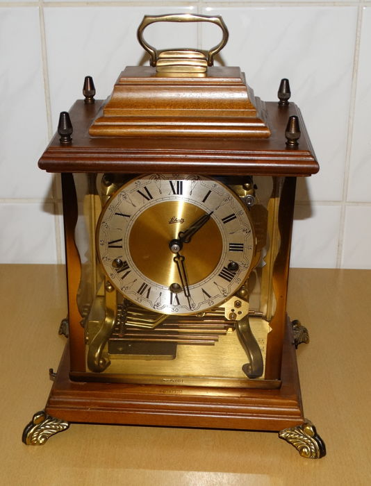 German table clock / pendulum Schatz & sohne – 2nd half 20th century