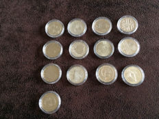 West Germany — 5 DM 1972/1979/1980/1983/1984/1986/1990, Liberia – 12 silver 2006 World Cup medals