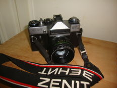 Zenit 3EHNT ET 35MM Camera With Original Stripe
