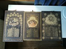 Lot of 3 calendars from the years 1923/24/25, Ralf Gerbrands