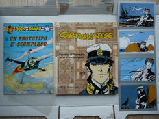 Corto Maltese - Favola di Venezia - Hardcover - 2nd reprint + 4 postcards + Buck Danny Vol.6: a Prototipo e' scomparso - 1968/1987