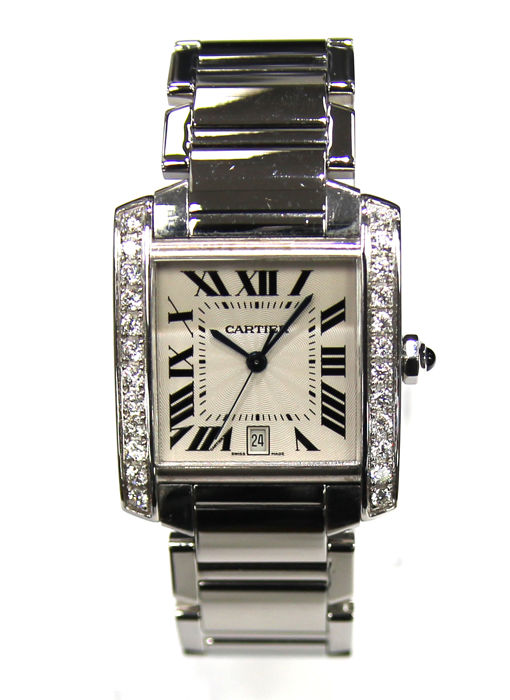 Cartier - Tank Francaise Automatic - 2302 - Heren - Does Not Apply