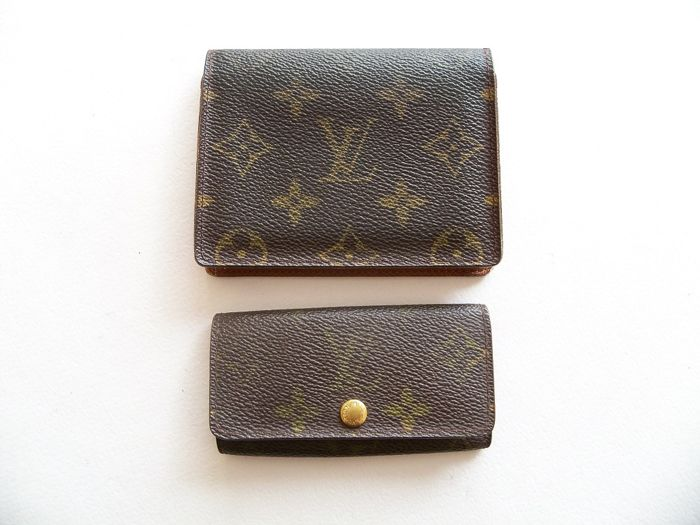 Louis Vuitton bi-fold ID-holder/cardholder & Louis Vuitton keyholder -*No Reserve Price*