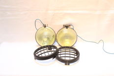 Pair of Raydyot fog lights /headlights - England - 1970's