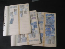 France 1880-1900 – Collection of revenue stamps.