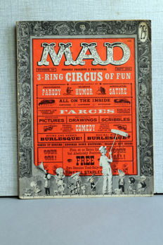 Collection Of Vintage MAD Magazine - X33 SC - (1950's/1960's)