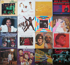 Grand Collection Soul albums: Aretha, Chaka Khan, Pointer Sister, Platters, James Brown, Supremes, Ben E King, Isley Brothers, and More