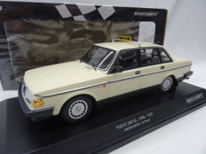 Minichamps - Scale 1/18 - Volvo 240 GL 1986 Taxi - Limited 300 pieces - Colour Beige