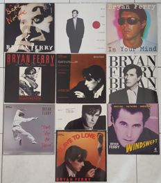 "Bryan Ferry - lot of 3x LP's plus 5x 12"" EPs and 2x promotional only 12""s 