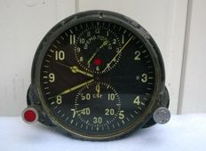 Aviation watches АЧС- 1 №08608 pilot for the fighter MiG (СССР/USSR). At the end of the 20th century.