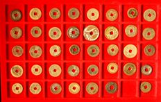 Asia - collection of more than 170 Asian coins - with silver