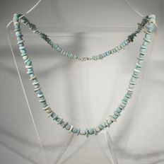 Necklace of faience beads - 50 cm