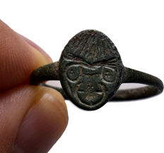 Roman Bronze ring - 22.30 mm (Outer diam.)