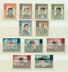 Yugoslavia 1919/1990 - Collection of 2.060 stamps