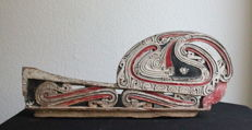 Finely Carved Old Lagim. Part of a Kula Cult Boat - Massim Province - Trobriand Islands
