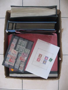 World – Large collection of stamps, including from France