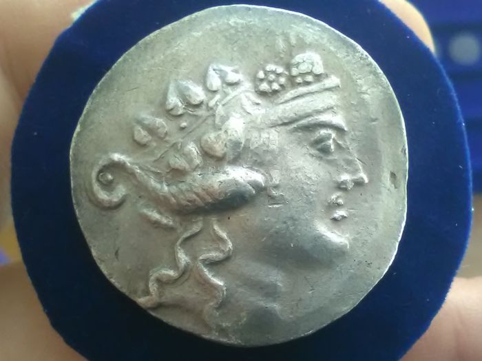 Greek Antiquity - Eastern Celtic imitation of Thassos tetradrachm - post 190 BC