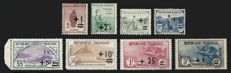 France 1922 - War Orphans, complete series - Yvert 162/169