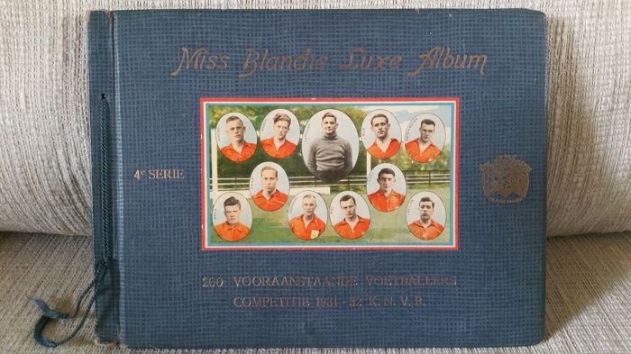 "Variant Panini - Complete 4e serie ""Miss Blanche Luxe Album"" Competitie 1931-1932 K.N.V.B."