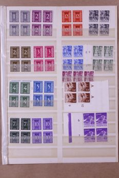 Indonesia 1949/1998 - Batch of stamps, carnets, etc. in mover's box