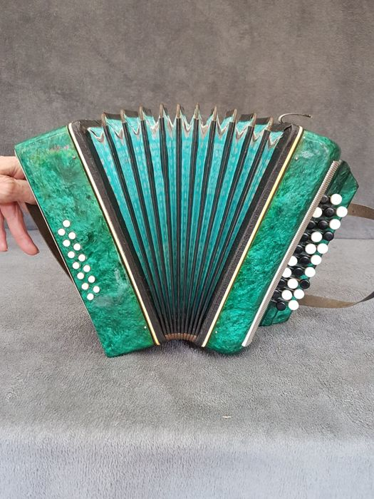 Rare old and unique accordion - 20th century