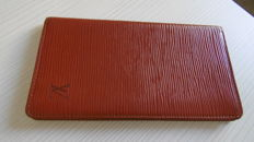 Louis Vuitton — Epi Brown Long Wallet