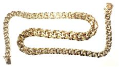 14K Yellow Gold Massive Chain Garibaldi - 43,5cm