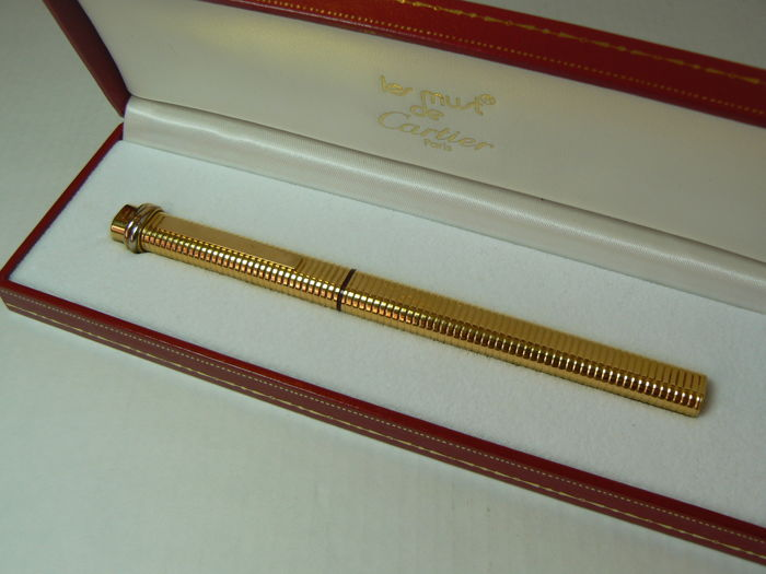 Cartier Must Collection Fountain Pen; Gold Plated
