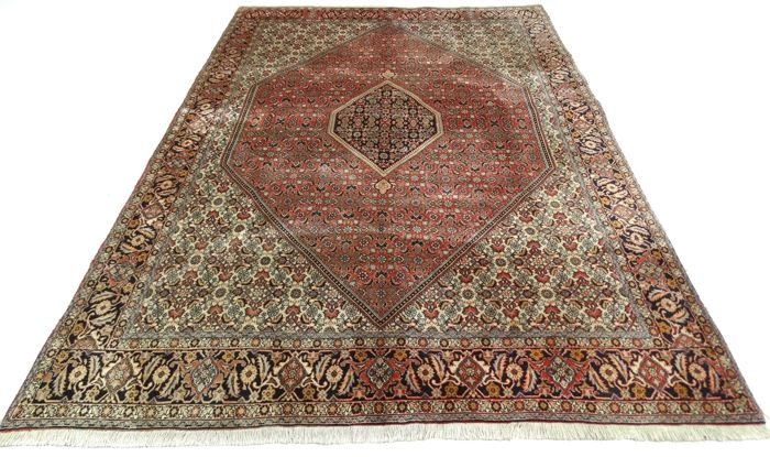 "Persian Bidjar - 296 x 197 cm. - ""Persian carpet in top condition"" - With certificate."
