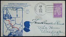 "United States 1933/1940 – ""The Franklin D Roosevelt Collection"": 10 covers"