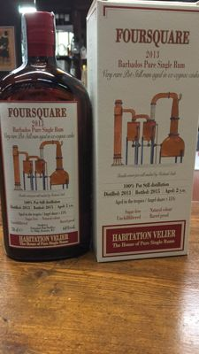 Foursquare 2013 - Bottled 2015 - 70cl & 64%