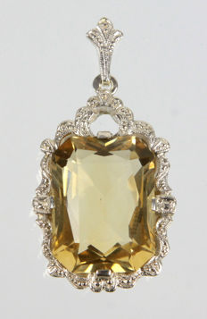 Art Deco pendant, around 1925