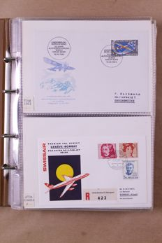 World 1948/1994 - batch FDCs and miscellaneous in 10 albums and loose