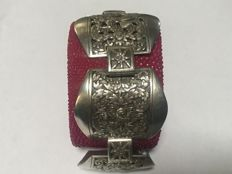 Antique, silver bracelet