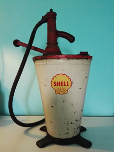 Original Vintage Shell Oil pump - 1950s/1960s