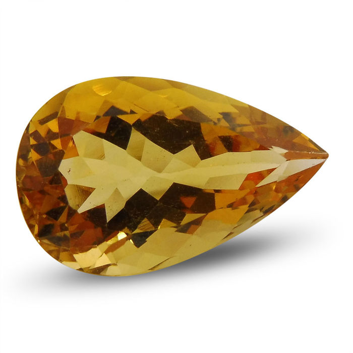 12.23 ct - Citrine  - No Reserve Price