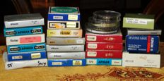 LOT consisting of FILTERS with special effects, lens hood and close-up - total of 24 pieces