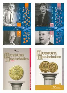 "The Netherlands - year packs/ year collections 2008/2012 ""Holland Coin Fair"" (4 different ones)"