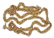 14K Yellow Gold Massive Chain Singapore (585) Length 21'' (53cm)
