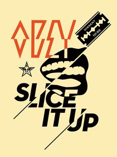 Shepard Fairey (OBEY) - Slice It Up