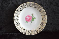 Meissen - Reticulated Plate
