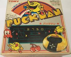 Puckman (Pacman) by Tomy 1981.