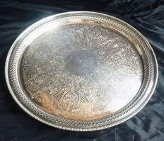 Silver plated Dish by Barker Ellis E.C.P.A.