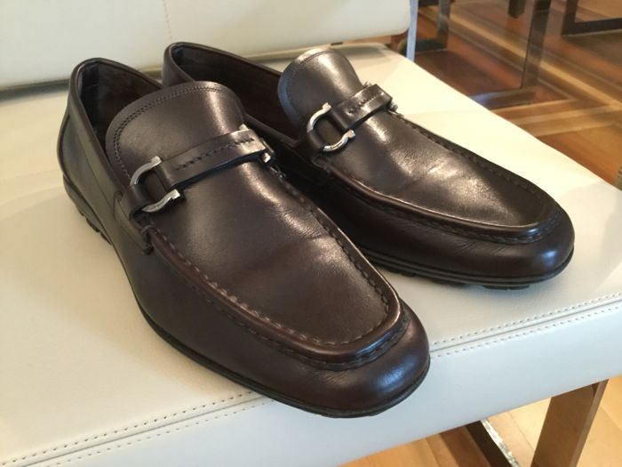Salvatore Ferragamo – Loafers with buckle.