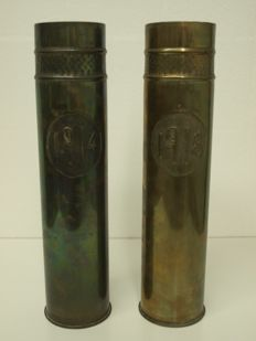 Decorative canisters 1914-1918