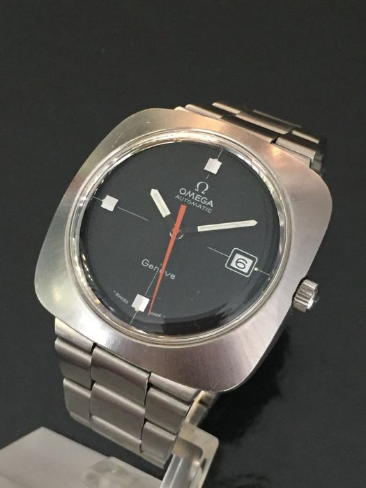 Omega Geneve square mens watch 70's