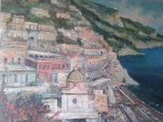 Unknown artist (20th century) Costiera di Sorrento