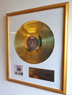 "The Beatles Gold Capitol Records In-house Award for ""Beatles 65"""