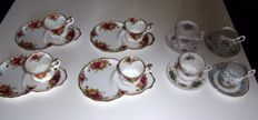 Royal Albert  - Eight objects