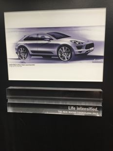 Limited edition for Macan dealer launch event 2014